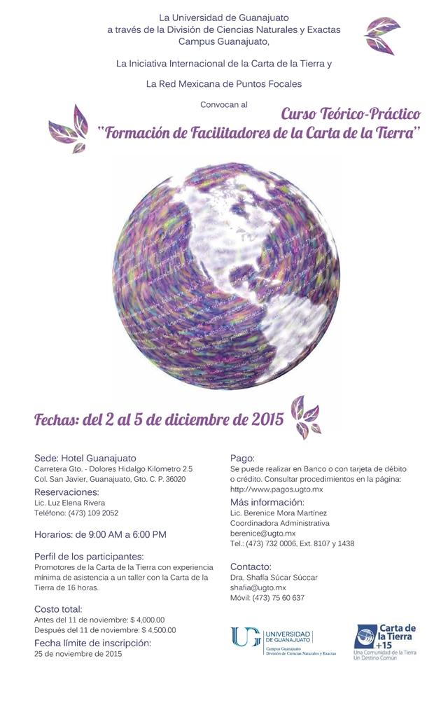 Curso Carta de la Tierra 2015 DIciembre